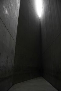 The Holocaust Tower. No room has ever been this cold and empty.