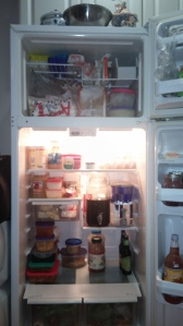 Behold: The way my fridge should have looked for the past year and three months.